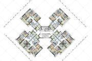 保利国际广场87--117平方米户型图