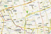 龙湖北城天街铂金岛商铺交通图