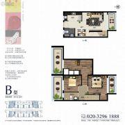 侨建御溪谷二期0室0厅0卫122平方米户型图