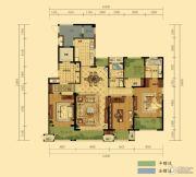 弘阳广场5室2厅2卫197平方米户型图