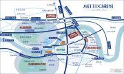 中国铁建江湾山语城交通图