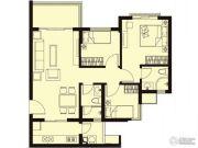 祈福聚龙堡3室2厅2卫0平方米户型图