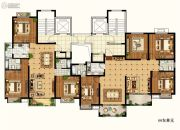 物华澜菲溪岸4室2厅2卫0平方米户型图