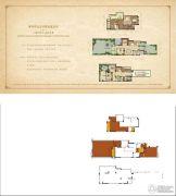 华宇天宫花城3室2厅4卫114平方米户型图