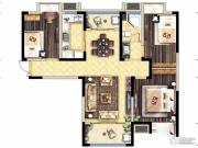 保利海德公馆3室2厅1卫0平方米户型图