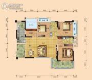 凯旋名门4室2厅2卫139平方米户型图