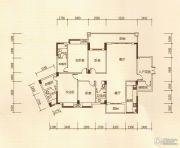 百福豪园4室2厅3卫184平方米户型图