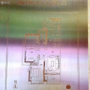凯得文化广场3室2厅1卫0平方米户型图
