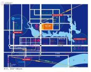 中南拂晓城交通图