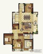 升龙天汇5室2厅2卫128平方米户型图