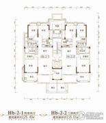 联投金色港湾3室2厅1卫116平方米户型图
