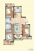 荣盛龙湖半岛3室2厅2卫110平方米户型图