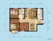海成天山绿洲四期3室2厅1卫93平方米户型图
