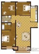 丽都壹号3室2厅2卫138平方米户型图