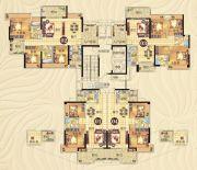 美林春天84--122平方米户型图