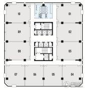 高新时代广场110--136平方米户型图