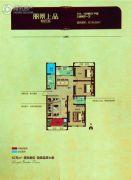 丽景上品3室2厅1卫0平方米户型图