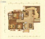 华讯大宅4室2厅3卫0平方米户型图