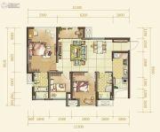 俊发星雅俊园3室2厅2卫86--121平方米户型图
