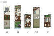 蓝光雍锦园440平方米户型图