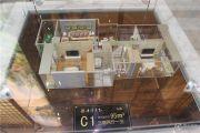 华泽天下 高层3室2厅1卫95平方米户型图