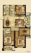 德信・湖滨1号4室2厅2卫106--119平方米户型图