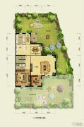 香江别墅II368平方米户型图