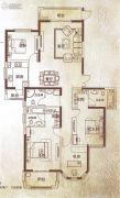万泰麓溪公馆4室2厅3卫179平方米户型图