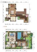 石梅半岛4室2厅4卫162平方米户型图