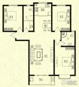 芝兰明仕二期3室2厅2卫138平方米户型图