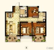 招商1872公园里3室2厅1卫88平方米户型图