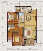 文居学府3室2厅1卫0平方米户型图