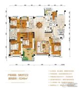 常德碧桂园5室2厅2卫245平方米户型图