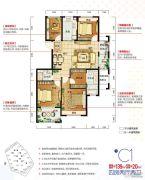 保利罗兰香谷4室2厅2卫0平方米户型图
