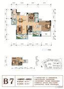 天立香缇华府3室2厅2卫127--149平方米户型图