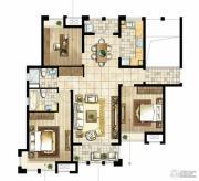 尼德兰花园3室2厅2卫131平方米户型图