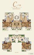恒大帝景(备案名:聚亨景园)4室2厅2卫168平方米户型图