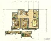 七彩云南第壹城2室2厅1卫94--99平方米户型图