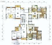美的君兰江山3室2厅2卫109平方米户型图