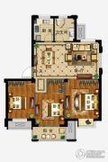 弘业・城市花园3室2厅1卫89平方米户型图