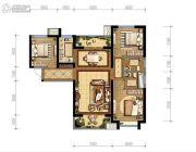 德杰・德裕天下3室2厅2卫0平方米户型图