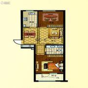 步阳江南甲第2室2厅1卫79平方米户型图
