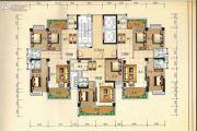 兴业花园2室2厅1卫84平方米户型图