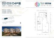 托斯卡纳・四季城3室2厅1卫91--92平方米户型图