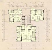 榕江四季城1室2厅1卫55--132平方米户型图