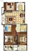 新城�o�Z0室0厅0卫87平方米户型图