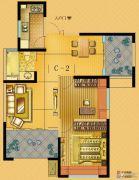 中南世纪城3室2厅2卫84平方米户型图