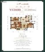 邵阳碧桂园6室2厅4卫260平方米户型图