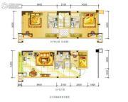 龙城雅郡3室2厅3卫0平方米户型图