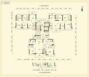 滨港御城4室2厅2卫135平方米户型图